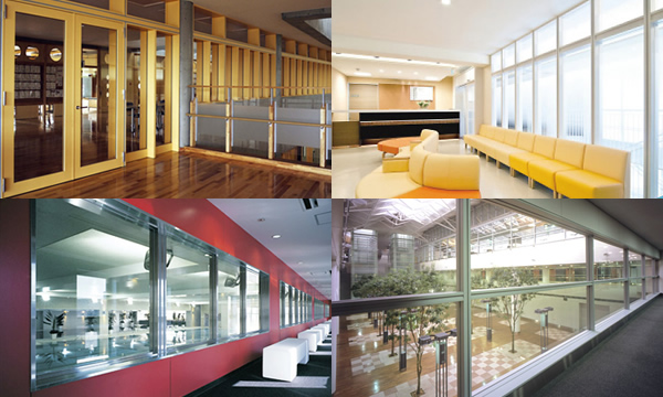 Applications|Electric Glass Building Materials